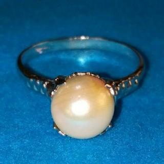真珠?指輪(リング(指輪))
