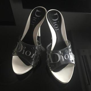 クリスチャンディオール(Christian Dior)のディオールサンダル(ミュール)
