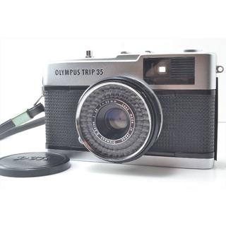 オリンパス(OLYMPUS)のOlympus オリンパス trip35 動作良好 整備清掃済 モルト張替え済(フィルムカメラ)