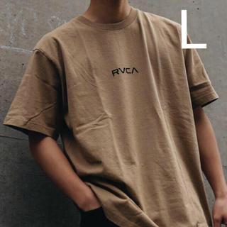 RVCA - 【L】RVCA ルーカ SMALL RVCA Tシャツ ベージュ