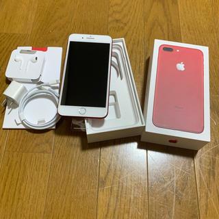 Apple - iPhone 7 Plus Red 128 GB 購入に関して注意有り
