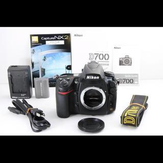 Nikon - 【ショット数極小・極上美品】Nikon D700 ボディ ★極小6000ショット