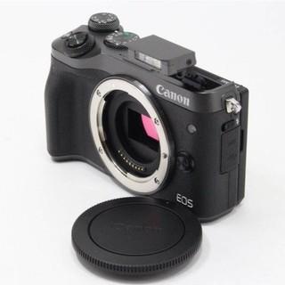 Canon - Canon ミラーレス一眼カメラ EOS M6 ボディー(ブラック)