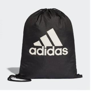 アディダス(adidas)のアディダス ジムサック ビックロゴ 新品 黒(バッグパック/リュック)