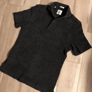 美品 ギィローバー  パイル地 半袖ポロシャツ S