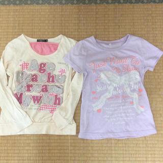 シマムラ(しまむら)のしまむら他 半袖&長袖Tシャツセット🌟140㎝(Tシャツ/カットソー)