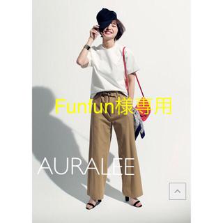 IENA - 極美品⭐️人気AURALEE オーラリーSTANDUP Tシャツ 白