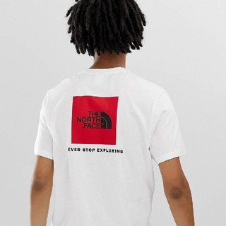 THE NORTH FACE - MサイズTHE NORTH FACE RED BOX TEE TNF WHITE