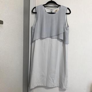 ナノユニバース(nano・universe)のlusso vita ワンピース 結婚式 二次会 フォーマル ドレス(ひざ丈ワンピース)