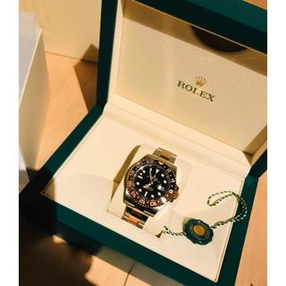 ロレックス(ROLEX)のGMTマスター2エバーローズゴールドコンビ、ロレックスGMTマスター2(腕時計(アナログ))