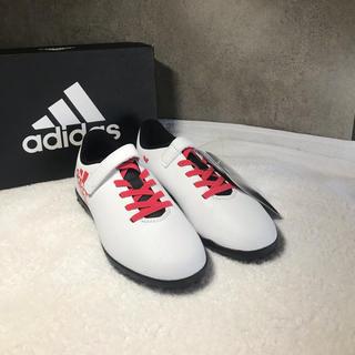 アディダス(adidas)のアディダス 未使用 トレーニングシューズ 19cm スパイク(スニーカー)