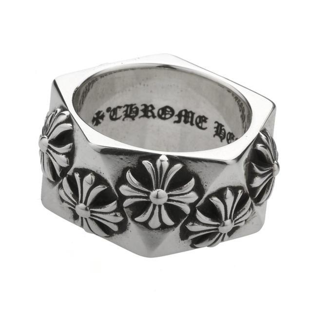 Chrome Hearts(クロムハーツ)の chrome hearts ペンタゴンリング ch us9 メンズのアクセサリー(リング(指輪))の商品写真
