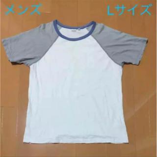 ユニクロ(UNIQLO)のTシャツ メンズ 半袖 ユニクロ Lサイズ(Tシャツ/カットソー(半袖/袖なし))