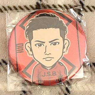 三代目 J Soul Brothers - 登坂広臣 モバイル缶バッジ JSB赤