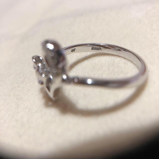 Samantha Tiara(サマンサティアラ)のお値下げ!!サマンサ ティアラ/WGリング レディースのアクセサリー(リング(指輪))の商品写真