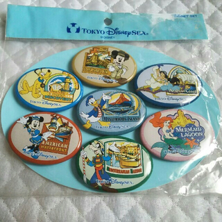 ディズニー(Disney)のTDS 東京ディズニーシー マグネットセット(キャラクターグッズ)