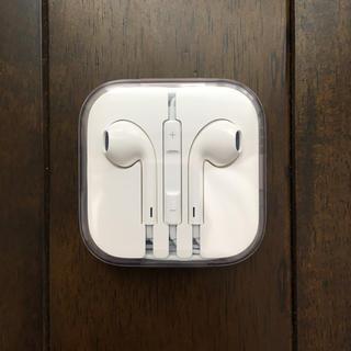 Apple - iphone 新品・純正イヤホン