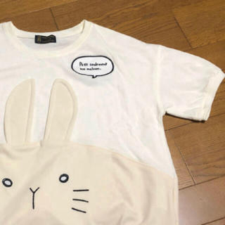 リベットアンドサージ(rivet & surge)のうさぎのプルオーバー(Tシャツ(半袖/袖なし))