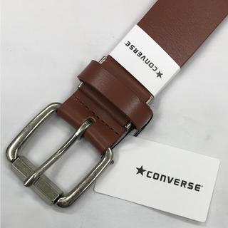 コンバース(CONVERSE)の新品  CONVERSE コンバース メンズ ベルト 本革 カジュアル 茶(ベルト)
