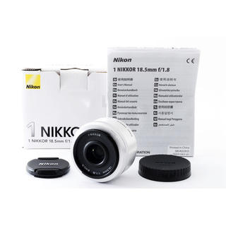 ニコン(Nikon)の☆ボケ感を楽しめる大人気単焦点☆ニコン 1 18.5mm F1.8 シルバー(レンズ(ズーム))