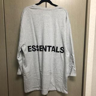 FEAR OF GOD - XL fog essentials ロングスリーブ Tシャツ グレー