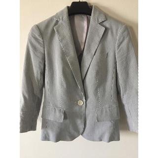 セレクト(SELECT)のsuitsselect ストライプジャケット 自宅洗濯可能 スーツセレクト(スーツ)