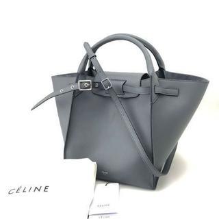 セリーヌ(celine)の【新品】[CELINE]ビッグバッグ スモール ストラップ付 ミディアムグレー(ハンドバッグ)