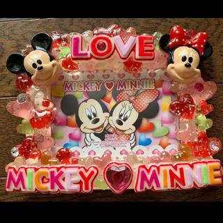 Disney - 新品 ディズニーリゾート 限定品 ミッキーミニーフォトフレーム 写真立て送料無料