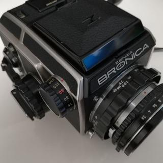 ニコン(Nikon)のゼンザブロニカ ZENZA BRONICA(フィルムカメラ)