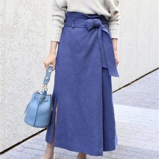 ノーブル(Noble)のノーブルのスカート(ブッチャーオーバータックロングタイトスカート)(ロングスカート)