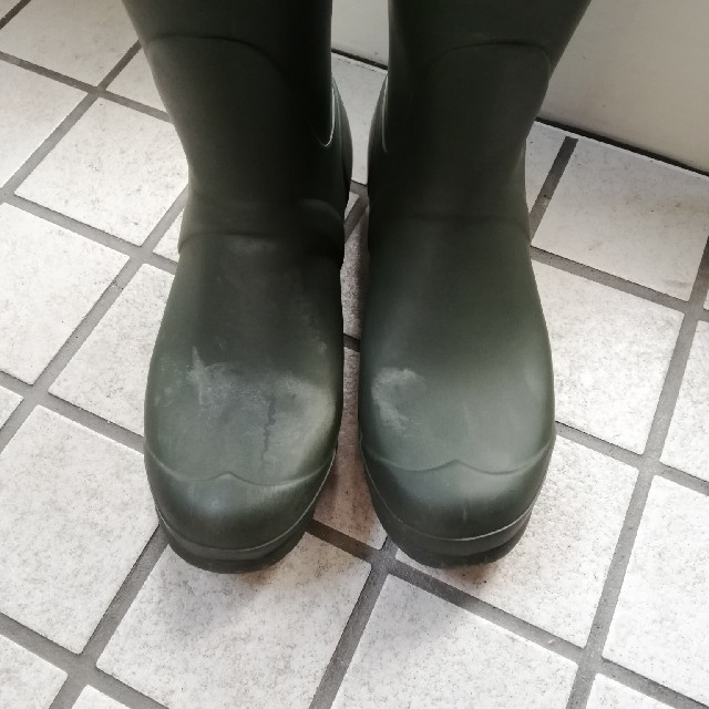 HUNTER(ハンター)のHUNTER レインブーツ カーキ 25cm レディースの靴/シューズ(レインブーツ/長靴)の商品写真