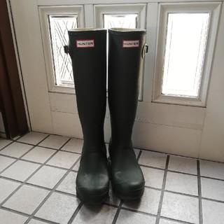 ハンター(HUNTER)のHUNTER レインブーツ カーキ 25cm(レインブーツ/長靴)