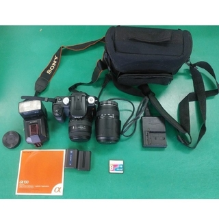 SONY - ソニー デジタルカメラ α100 DSLR-A100
