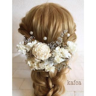 5-2 髪飾り ヘッドドレス 結婚式 成人式 前撮り 卒業式
