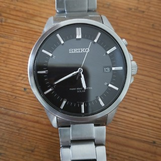 セイコー(SEIKO)のSEIKO スピリット 電波ソーラー時計(腕時計(アナログ))