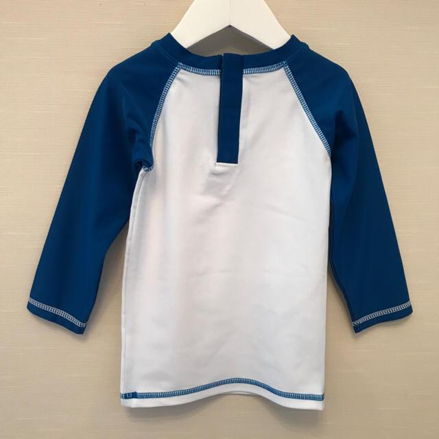 PETIT BATEAU(プチバトー)のプチバトー 19SS ロゴ入りラッシュガード 36m  キッズ/ベビー/マタニティのキッズ服 男の子用(90cm~)(水着)の商品写真