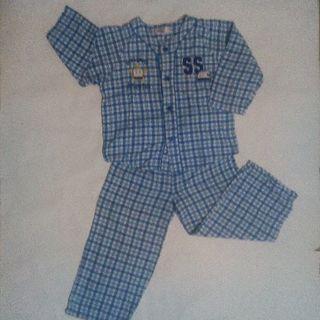 サンリオ(サンリオ)のパジャマ上下☆シンカンセン サイズ120 キッズ(パジャマ)
