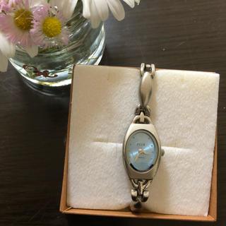 1ee0e5044db2 エル(ELLE)のELLE レディース 腕時計 青(腕時計)