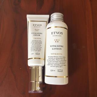 エトヴォス(ETVOS)のETVOS 化粧液&保湿クリーム(化粧水 / ローション)