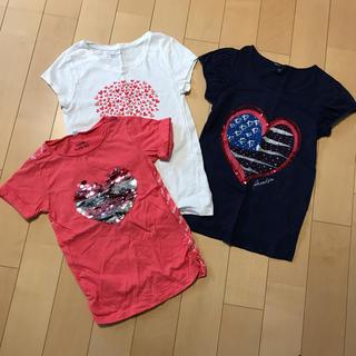 ギャップ(GAP)のGAP☆半袖Tシャツ☆3枚セットサイズ130(Tシャツ/カットソー)