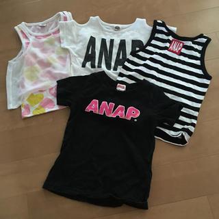 アナップキッズ(ANAP Kids)のANAP 夏服 セット(Tシャツ/カットソー)