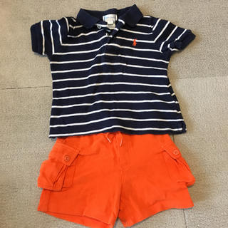ラルフローレン(Ralph Lauren)のラルフローレン ポロシャツ&ショートパンツ(シャツ/カットソー)