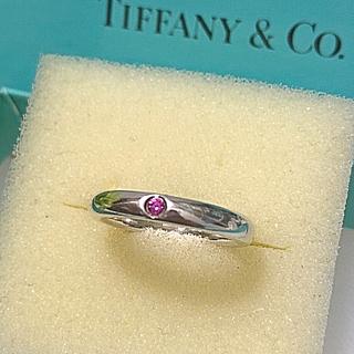 ティファニー(Tiffany & Co.)のTiffanyピンクサファイアバンドリング(リング(指輪))