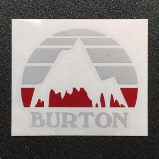 BURTON - 【再帰反射素材】 バートン マウンテンモチーフカッティングステッカー 送料無料