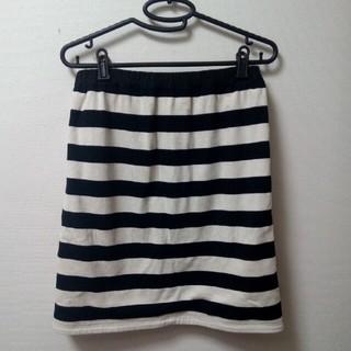 ベルメゾン(ベルメゾン)のリバーシブルスカート M〜L(ひざ丈スカート)
