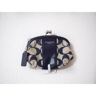 3db9132d60f6 コーチ(COACH)の【COACH】signature pattern frame-purse(コインケース