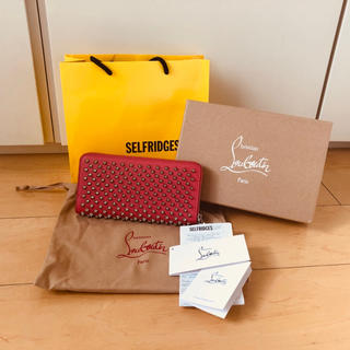 クリスチャンルブタン(Christian Louboutin)の新品★ルブタン ロング ウォレット コーラル ピンク イギリスで購入!(財布)