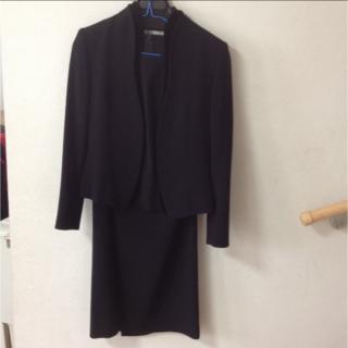 9d9ef55a3e9f6 ソワール(SOIR)の東京ソワール SOIR PERLE ブラックフォーマル3点セット(礼服