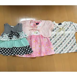 クミキョク(kumikyoku(組曲))の夏物子供服*女の子可愛いワンピース80〜90 組曲あり値下げ(その他)