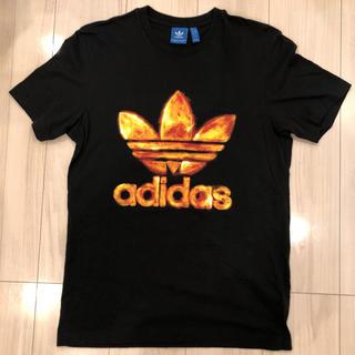 ★ adidas アディダス Tシャツ ブラック L ★
